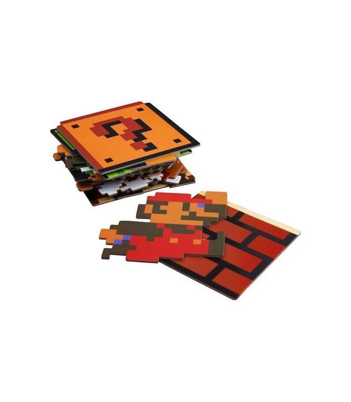 Set de posavasos - Mario Bros