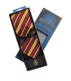Set Deluxe de Corbata y Pin Gryffindor - Harry Potter