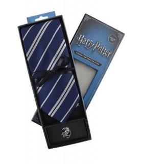 Set Deluxe de Corbata y Pin Ravenclaw - Harry Potter
