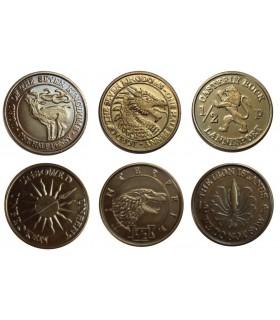 Monedas de las Casas - Juego de Tronos