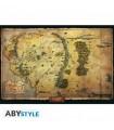 Póster Mapa Tierra Media - The Hobbit