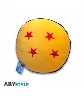 Cojín de peluche bordado bola de 4 estrellas - Dragon Ball