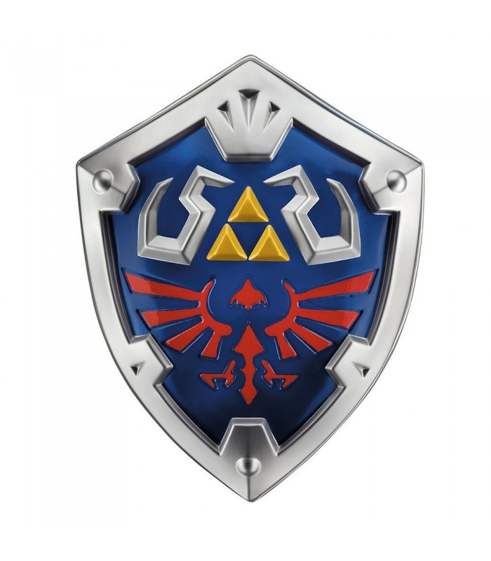 Escudo Legend of Zelda Skyward Sword Réplica Plástico Link´s Hylian Shield 48 cm