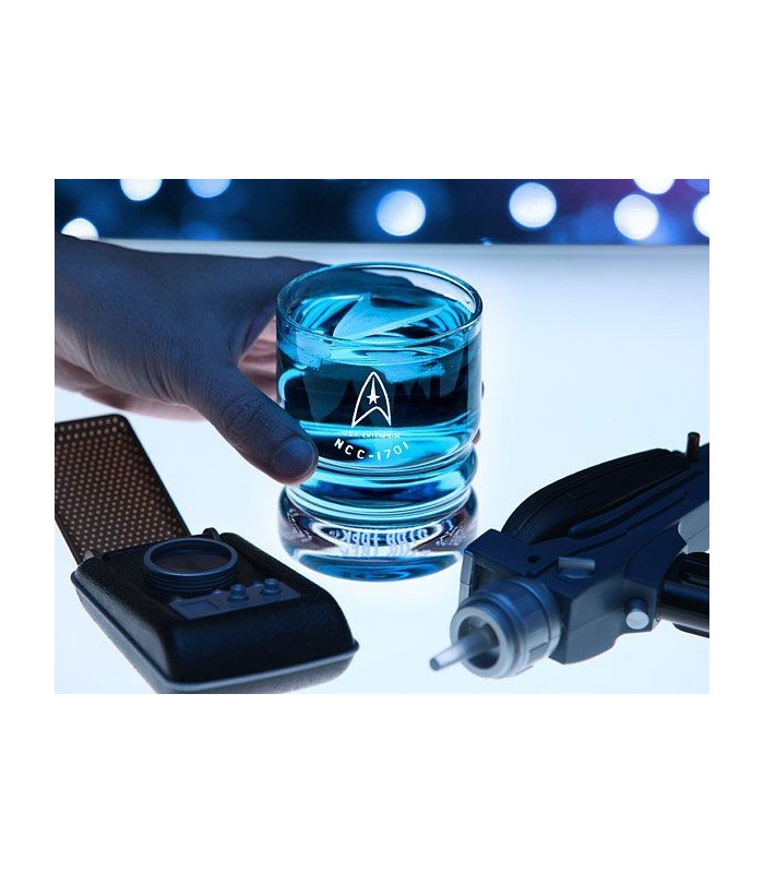 Star Trek Pack de 4 Vasos USS Enterprise