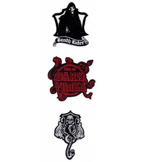 Pack de 3 Parches Deluxe Dark Arts - Harry Potter