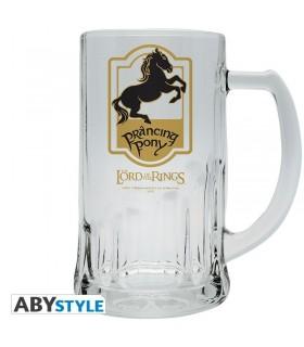 Jarra cerveza de vidrio Pony Pisador - El Señor de Los Anillos