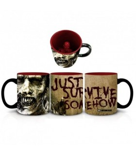 Taza Zombie - The Walking dead