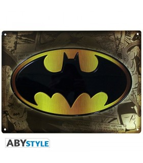 Placa de metal Barman - DC Comics