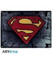 Placa de metal Superman - DC Comics