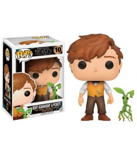 FUNKO POP! 010 Newt and Pickett - FANTASTIC BEASTS