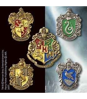 Set de 5 Pins de las Escuelas Hogwarts