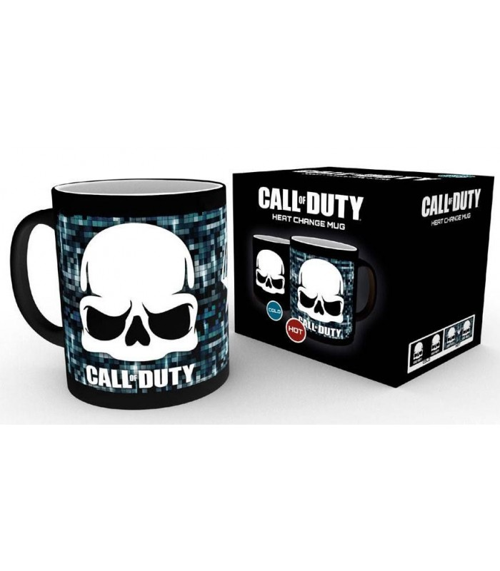 Taza térmica Skull - Call of Duty