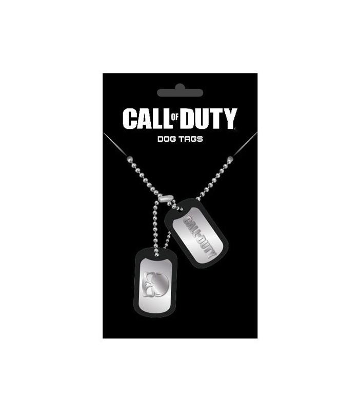 Chapas de Identificación con cadena Logo - Call of Duty