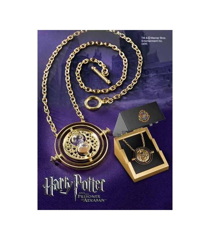Giratiempos de Hermione (Plata chapada en Oro)