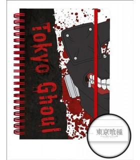 Libreta A5 Team Mask - Tokyo Ghoul