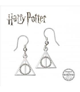 Pendientes Las Reliquias de la Muerte Swarovksi - Harry Potter