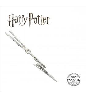 Collar con Colgante Lightning Bolt Swarovksi - Harry Potter