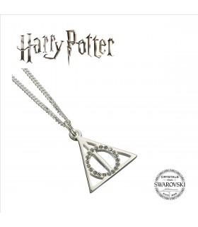 Collar con Colgante Las Reliquias de la Muerte Swarovksi - Harry Potter