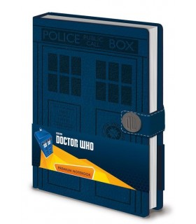 Libreta Premium A5 Tardis - Doctor Who