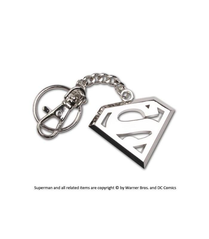 Llavero con mosquetón Superman