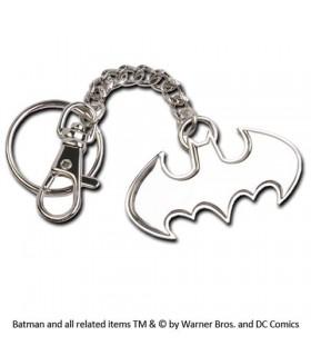 Llavero con mosquetón Batman metálico
