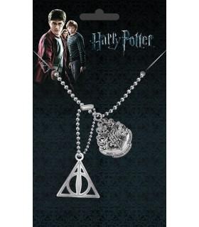 Chapas de Identificación Crest & Hallows - Harry Potter