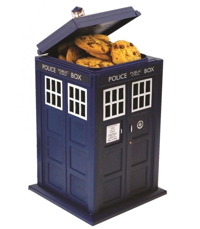 Bote de galletas con luz y sonido Tardis - Doctor Who