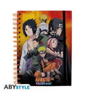 Libreta A5 - Naruto Shippuden