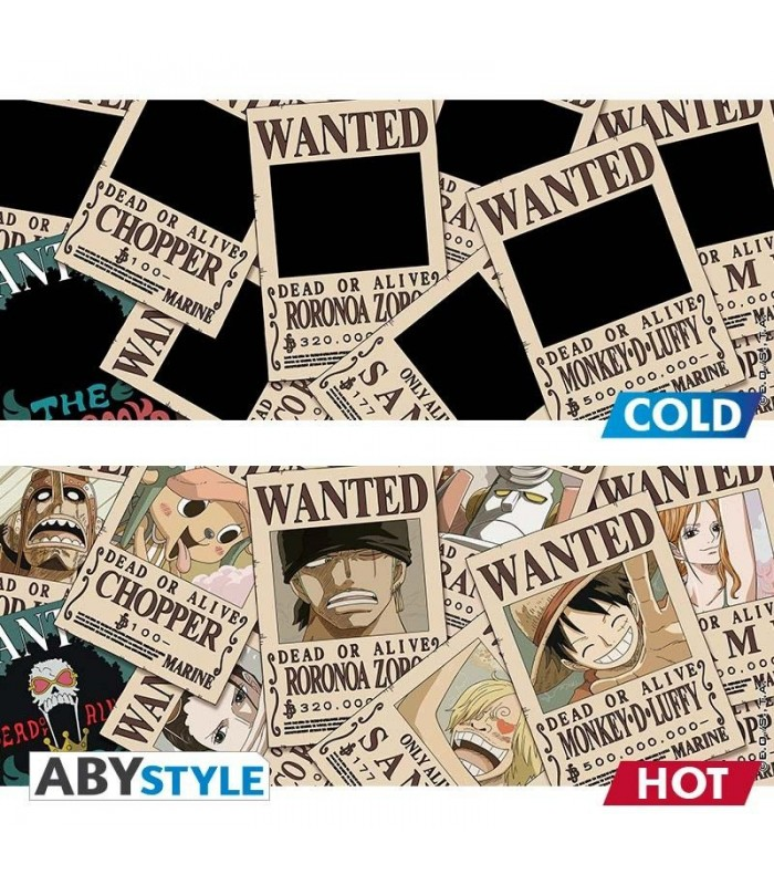 Taza térmica Wanted Luffy - One Piece