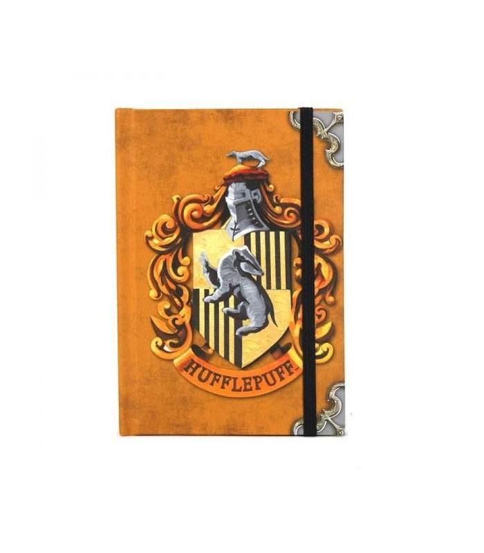 Libreta A6 Hufflepuff Harry Potter