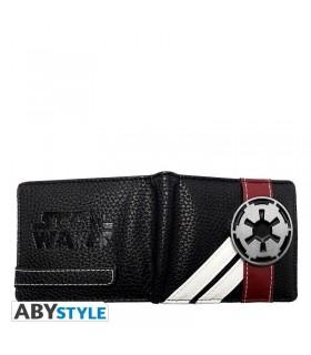 Cartera con logo metálico imperial - Star Wars
