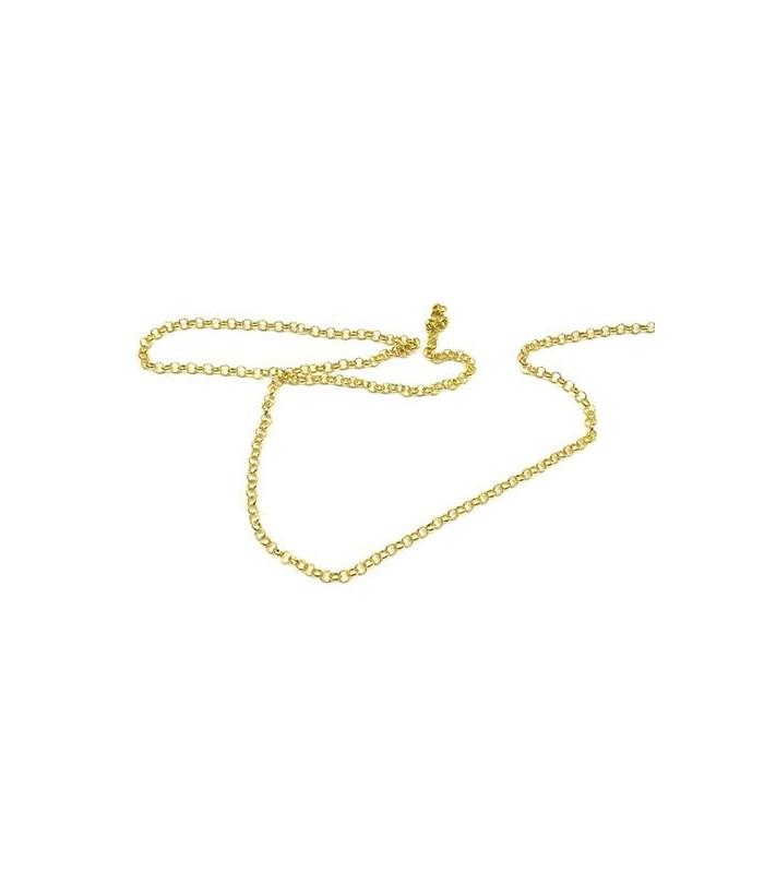 Cadena para el Anillo Único de Poder (chapada en oro)