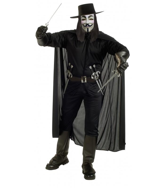 Disfraz V de Vendetta (Pack Básico Standard by Cuernavilla)