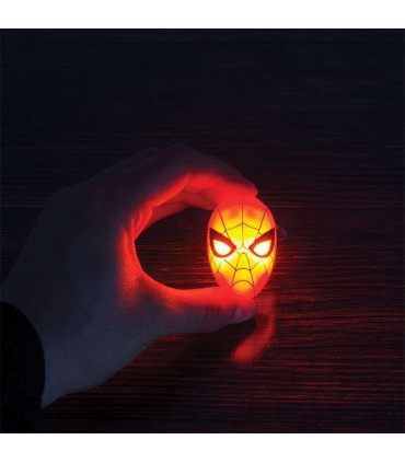 Llavero máscara con luz - Spider-Man