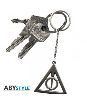 Llavero metálico Símbolo de Las Reliquias de La Muerte - Harry Potter