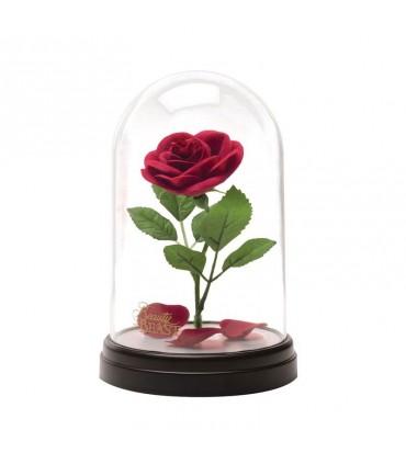Lámpara de ambiente Rosa Encantada - La Bella y La Bestia