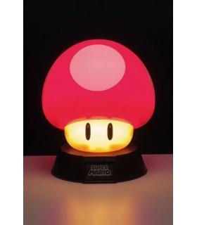 Lámpara de ambiente 3D Seta de Mario - Nintendo