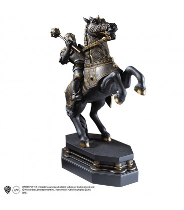 Soporte sujetalibros caballo negro de Ajedrez Mágico - Harry Potter