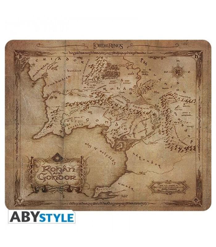 Alfombrilla para ratón mapa de Gondor y Rohan - El Señor de los Anillos