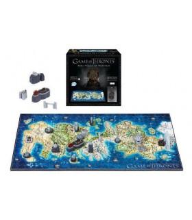 Mini Puzle 3D mapa de Poniente (Westeros) - Juego de Tronos