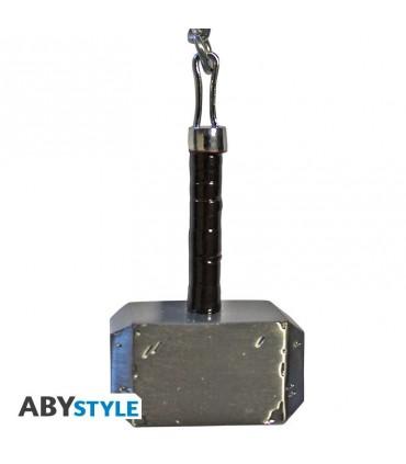 Llavero metálico martillo de Thor Mjolnir- Thor