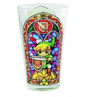 Vaso grande vidriera Wind Waker - The Legend of Zelda