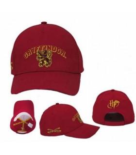 Gorra roja bordada Gryffindor - Harry Potter