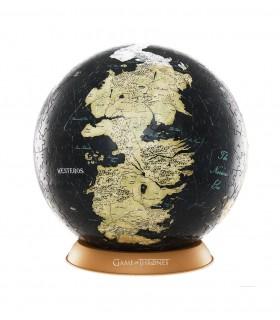 Puzle 3D 240 piezas esférico mediano Mapa de Westeros y Essos - Juego de Tronos