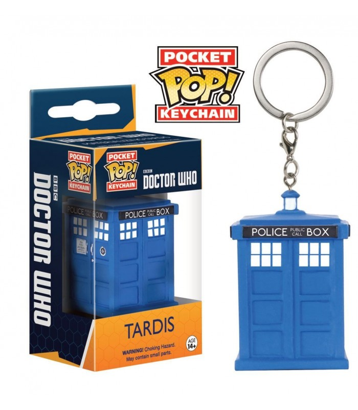 Llavero FUNKO POP! Pocket Keychain Tardis - Dr. Who