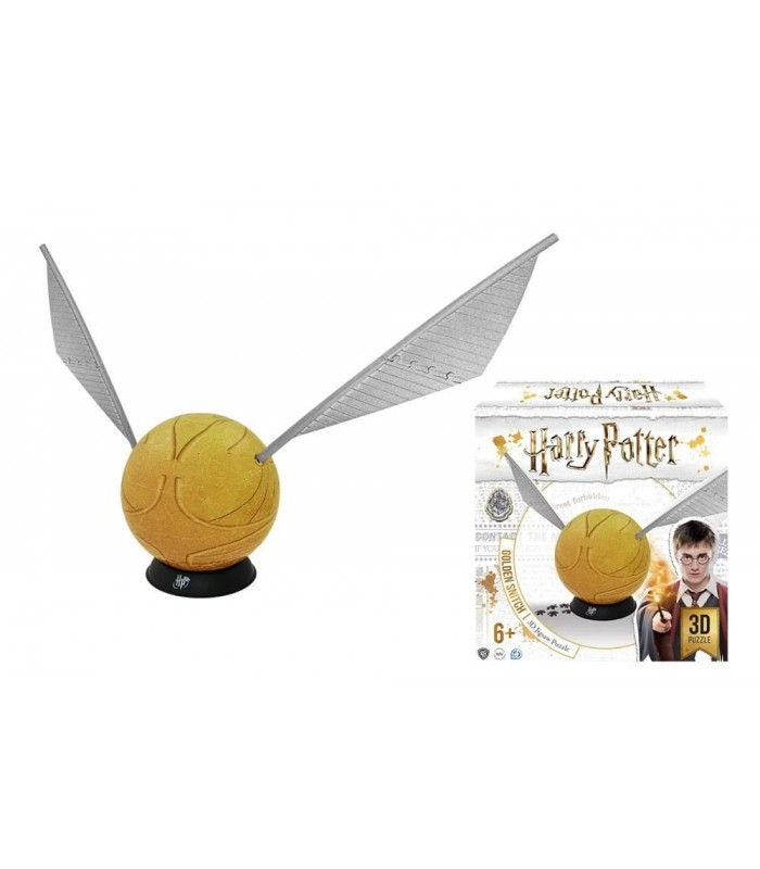 Puzle rompecabezas 244 piezas Snitch Dorada grande - Harry Potter