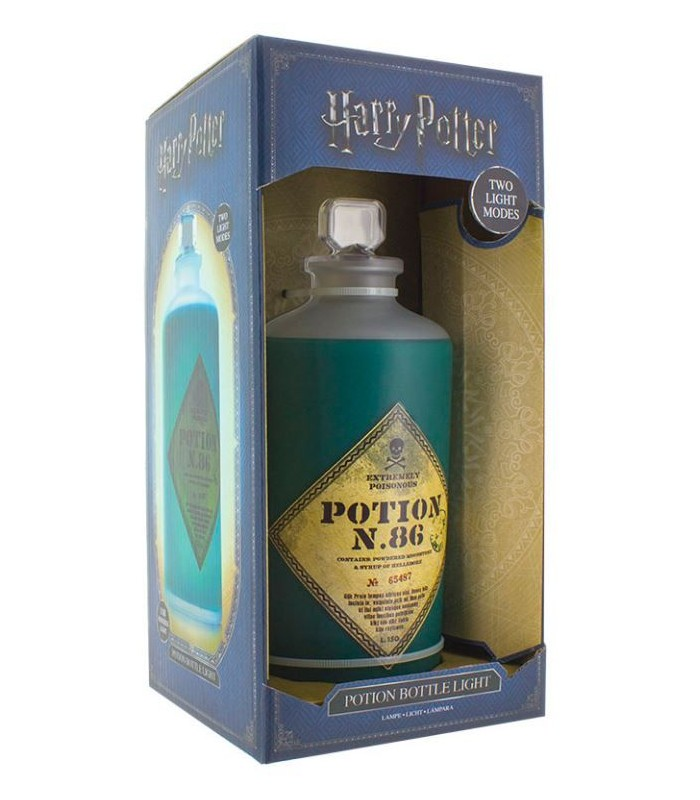 Lámpara de ambiente botella de poción - Harry Potter