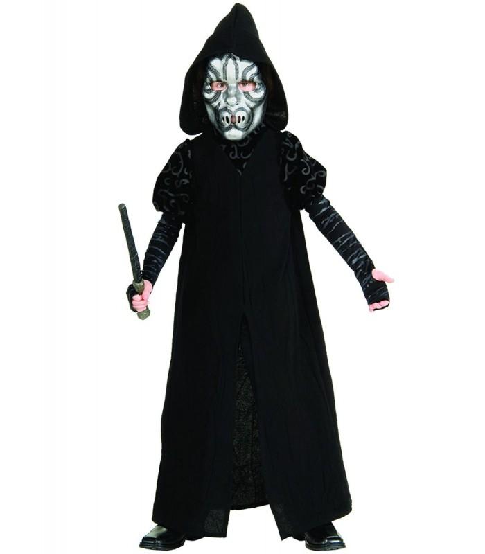 Disfraz de mortífago infantil deluxe - Harry Potter