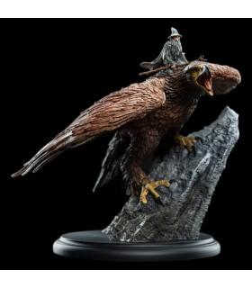 Estatua 15 cm Gandalf montado en Gaihir - El Señor de Los Anillos