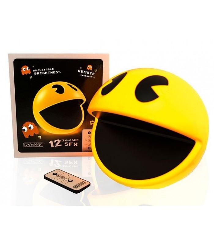 Lámpara de ambiente con mando a distancia y sonido - Pac-Man